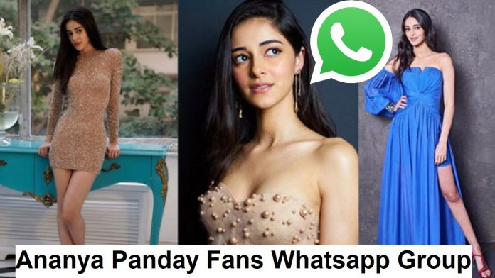 Ananya Panday Fans Whatsapp Group Link