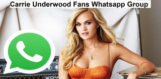 Carrie Underwood Fans Whatsapp Group Link