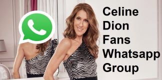 Celine Dion Fans Whatsapp Group Link