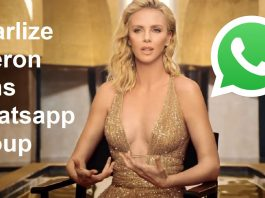 Charlize Theron Fans Whatsapp Group Link