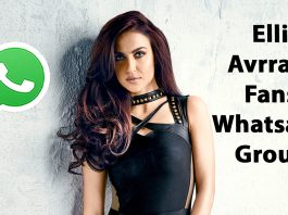 Elli Avrram Fans Whatsapp Group Link