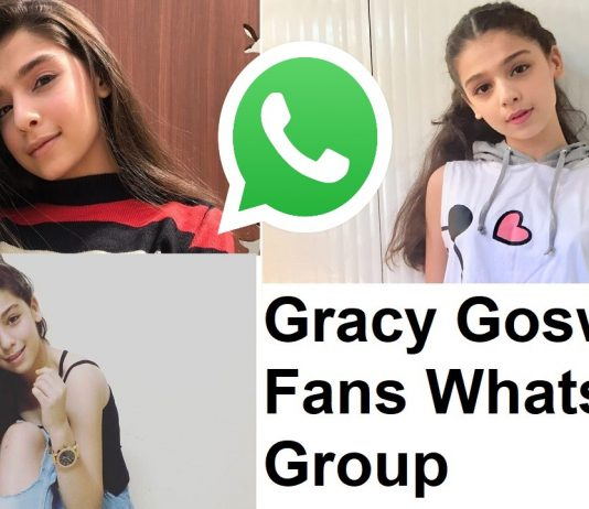 Gracy Goswami Fans Whatsapp Group Link