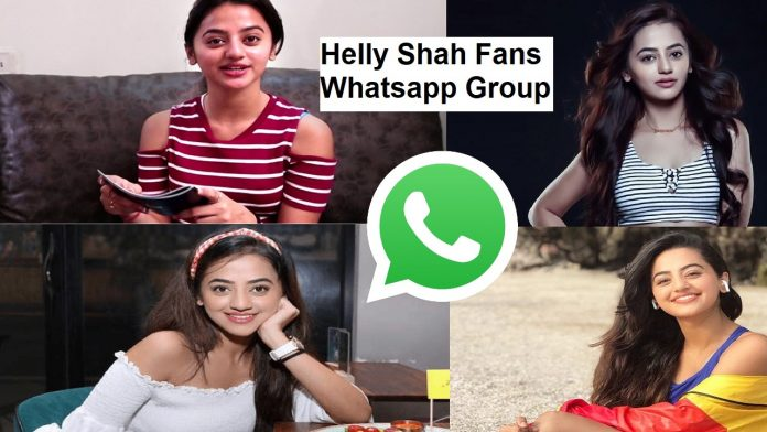 Helly Shah Fans Whatsapp Group Link