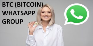 Join 101+ BTC (BITCOIN) WHATSAPP GROUP LINK