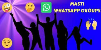 Join Masti WhatsApp Group Links List 2020