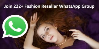 Join 222+ Fashion Reseller WhatsApp Group Links list 2020
