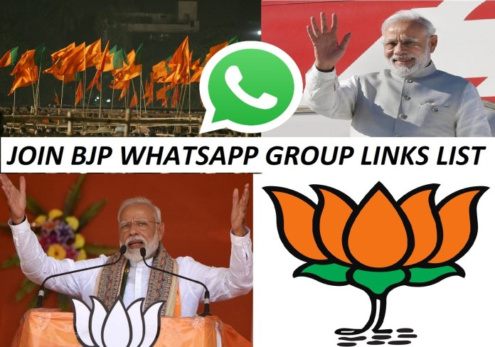Join 234+ BJP WhatsApp Group Links List 2020
