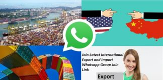 Join Latest Internaional Import & Export Business WhatsApp Group Links List