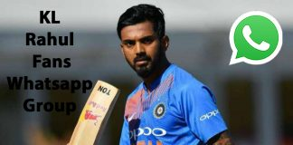 KL Rahul Fans Whatsapp Group Link