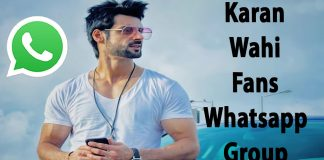 Karan Wahi Fans Whatsapp Group Link