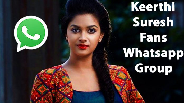 Keerthi Suresh Fans Whatsapp Group Link