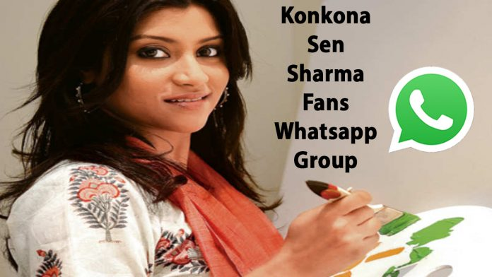 Konkona Sen Sharma Fans Whatsapp Group Link