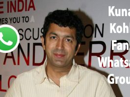 Kunal Kohli Fans Whatsapp Group Link