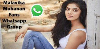 Malavika Mohanan Fans Whatsapp Group Link
