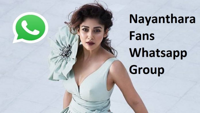 Nayanthara Fans Whatsapp Group Link