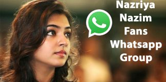 Nazriya Nazim Fans Whatsapp Group Link