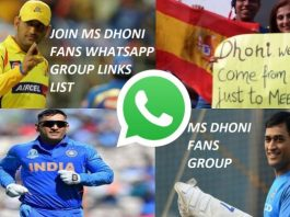 New MS Dhoni Whatsapp group Join link