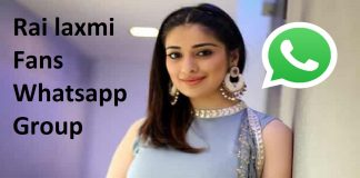 Rai laxmi Fans Whatsapp Group Link