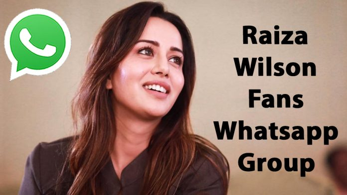 Raiza Wilson Fans Whatsapp Group Link