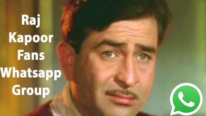 Raj Kapoor Fans Whatsapp Group Link