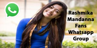 Rashmika Mandanna Fans Whatsapp Group Link