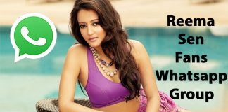 Reema Sen Fans Whatsapp Group Link