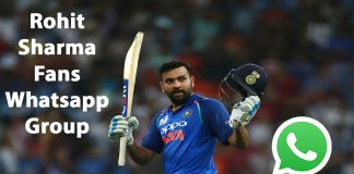 Rohit Sharma Fans Whatsapp Group Link