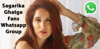 Sagarika Ghatge Fans Whatsapp Group Link