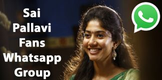 Sai Pallavi Fans Whatsapp Group Link