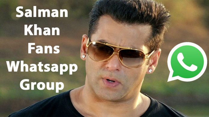Salman Khan Fans Whatsapp Group Link