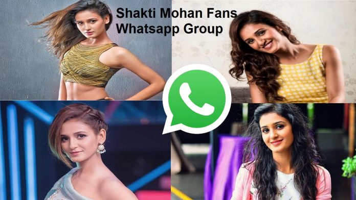 Shakti Mohan Fans Whatsapp Group Link
