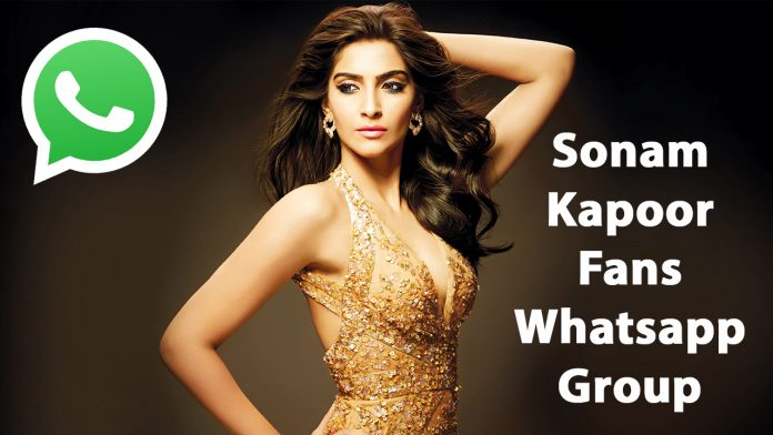 Sonam Kapoor Fans Whatsapp Group Link