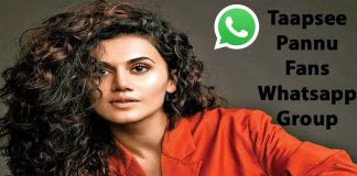 Taapsee Pannu Fans Whatsapp Group Link