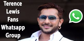 Terence Lewis Fans Whatsapp Group Link