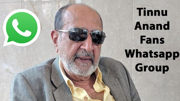 Tinnu Anand Fans Whatsapp Group Link