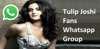 Tulip Joshi Fans Whatsapp Group Link
