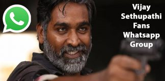 Vijay Sethupathi Fans Whatsapp Group Link