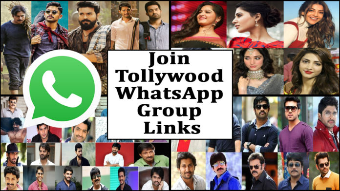 Join Tollywood WhatsApp Group Links