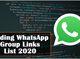 Coding WhatsApp Group Links List 2020