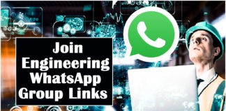 Join Engineering WhatsApp Group Links
