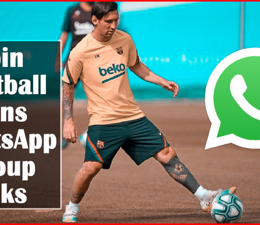 Join Football Fans WhatsApp Group Links