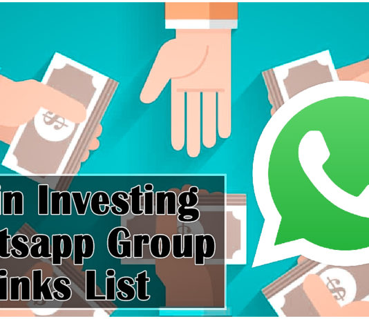 Join Investing Whatsapp Group Links List