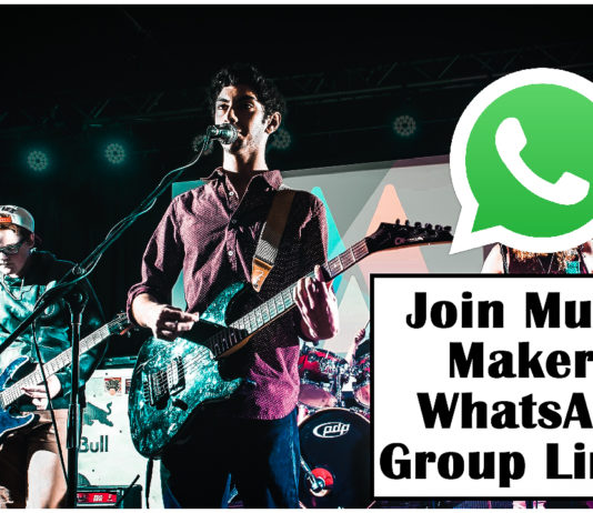Join Music Makers WhatsApp Group Links