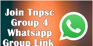 Join Tnpsc Group 4 Whatsapp Group Link