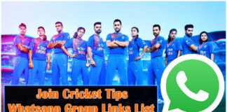join Cricket tips whatsapp group links list
