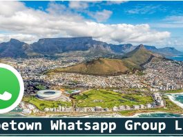 Join Capetown Whatsapp Group Link